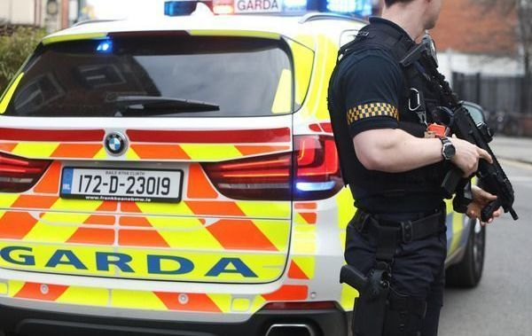 An armed police unit in now patrolling the Irish border in Cavan and Monaghan.