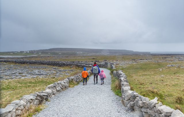 Island life: Explore the Aran Islands, off Galway, voted some of the best in the world.