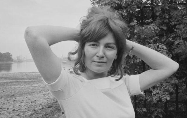 Irish author Edna O\'Brien.