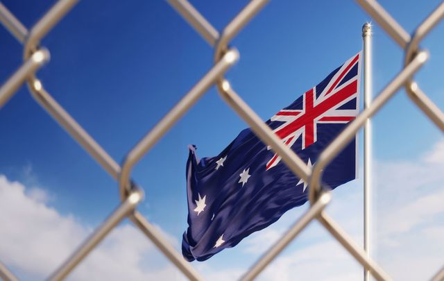 """I'm desperate for my partner to stay in Australia.""\n\n"