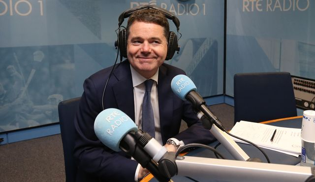 Ireland\'s Finance Minister Paschal Donohoe.
