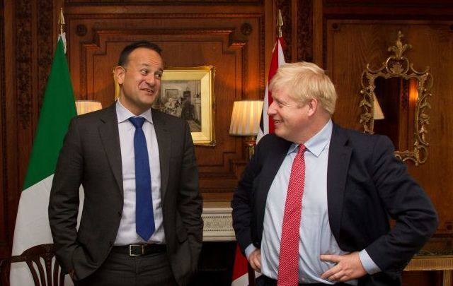 Taoiseach Leo Varadkar and Prime Minister Boris Johnson met in the UK on October 10 to discuss Brexit.