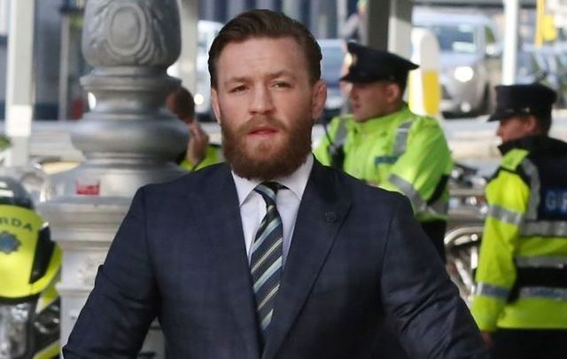 Conor McGregor appeared at Dublin District Court on October 11 after being filmed punching a man in April.