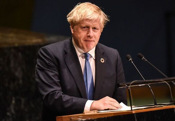 United Kingdom Prime Minister Boris Johnson.