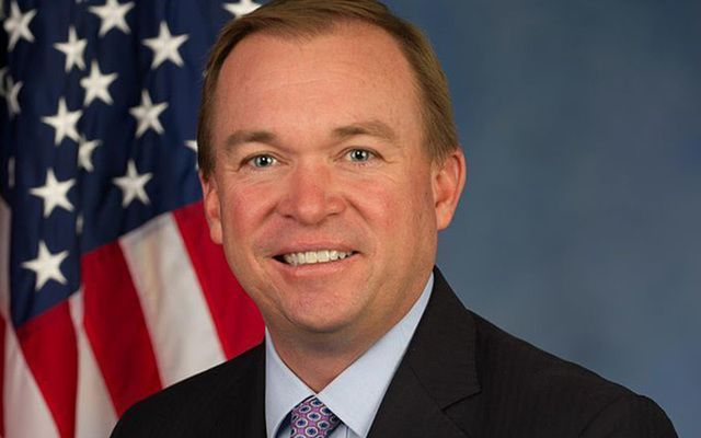 White House Chief of Staff Mick Mulvaney.