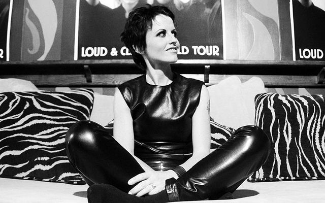 The late Cranberries frontwoman, Dolores O\'Riordan.