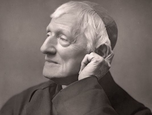 Saint John Henry Newman, a theologian who established the Catholic University of Ireland in Dublin, which later became University College Dublin.