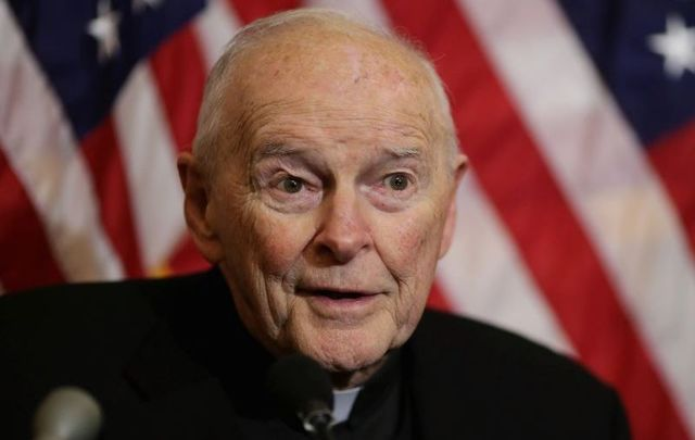 The defrocked Theodore McCarrick, pictured here in 2015, faces new allegations according to several sources.