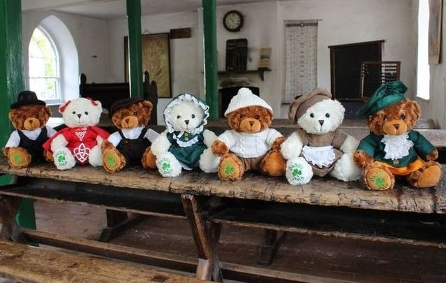 All of the Paddy Pals bears gathered together.