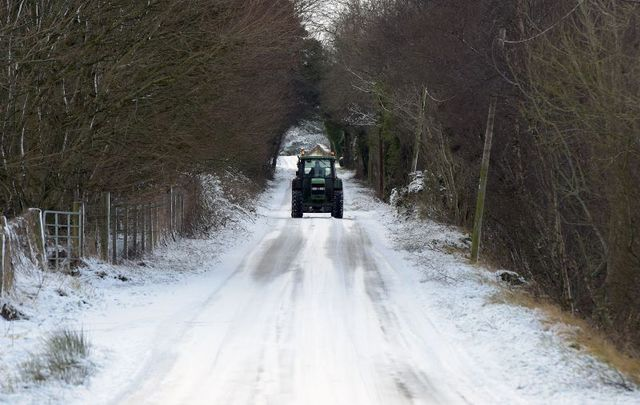 Parts of Ireland could see some snow this week.