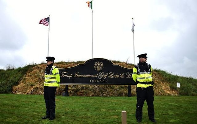 Irish police were charged hundreds of Euro for extra coffee during President Trump\'s Irish visit.