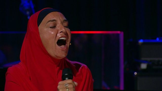 Sinead O\'Connor on the Late Late Show, earlier this year.