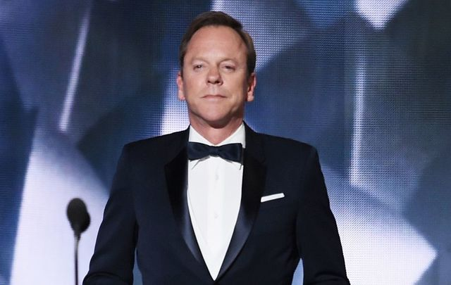 Kiefer Sutherland at the Emmy\'s.