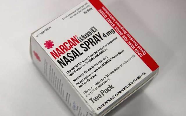 Narcan nasal spray.