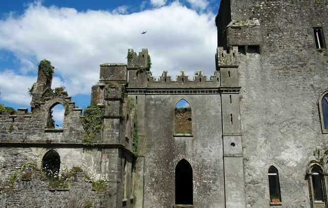 Leap Castle is one of the most haunted places in Ireland.