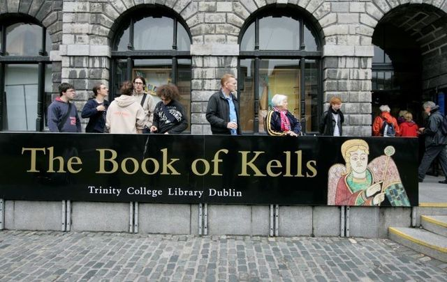 The Book of Kells will be removed from public display until March to accommodate for conservation works.