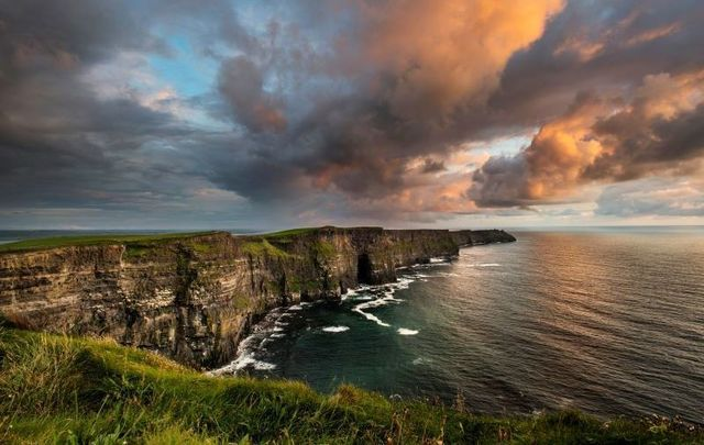 "The Cliffs of Moher in Co Clare - one of Ireland\'s most ""iconic\"" landmarks."