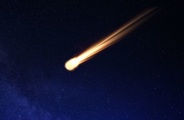 An Irishman driving in Co Cork captured footage of a meteor traveling across the night sky.