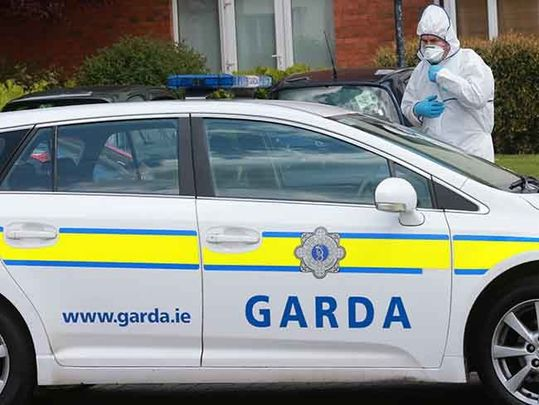 Forensics have investigated the crime scene in Limerick, where Brooklyn Colbert was murdered.