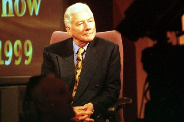 The late great, Late Late Show host, Gay Byrne.