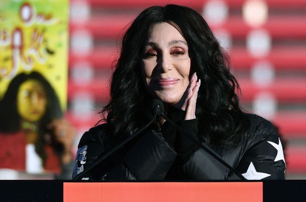 Iconic pop star Cher.