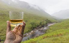 Thumb whiskey ireland rain getty