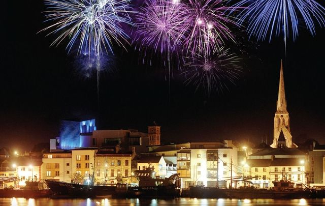Fireworks over Wexford for the Wexford Festival Opera