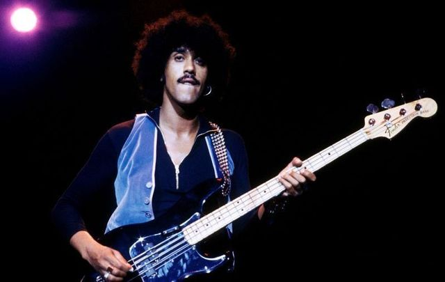Dublin native Phil Lynott, frontman for Thin Lizzy, battled drug and alcohol addiction during his life.