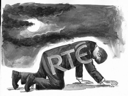 RTE, Ireland\'s national broadcaster, is on its knees.