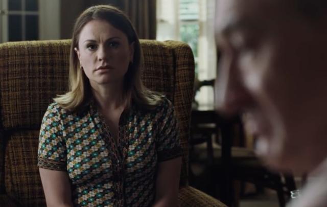 "Anna Paquin as Frank Sheeran\'s daughter Peggy in \""The Irishman.\"""