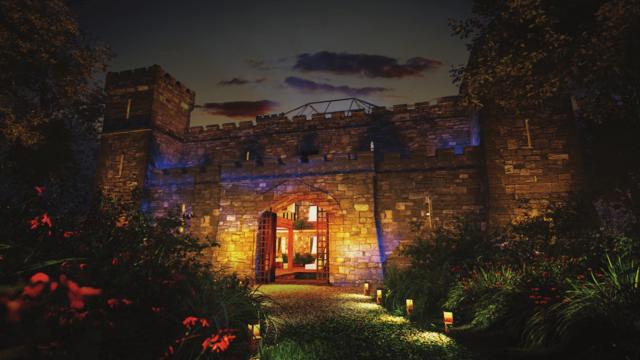 Cloontykilla Castle in County Roscommon