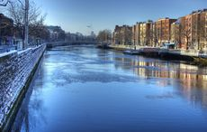 Thumb river liffey winter getaway dublin getty