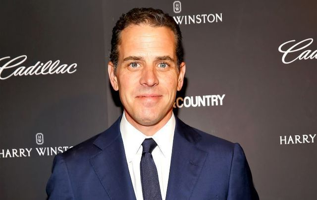 Hunter Biden, pictured here in 2014, has been named as the father of a child born in Arkansas in August 2018.