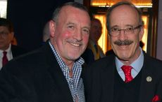 Thumb cropped mi congressman eliot engel and malachy mcallister at an aoh division 5 event in woodlawn last year.