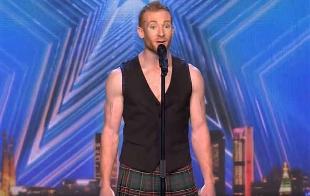 "Daniel Sullivan wowed the judges on ""Spain\'s Got Talent\"" with his Irish dance - acrobatic routine."