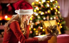 Thumb christmas presents gifts woman getty