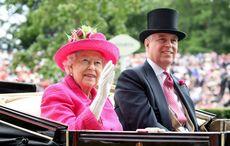 Thumb queen elizabeth prince andrew getty