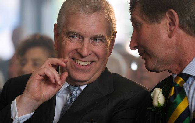 Disgraced royal, Prince Andrew.