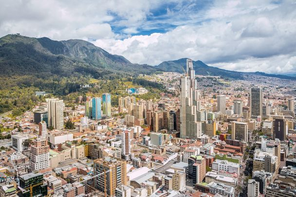 Bogota City, in Columbia.