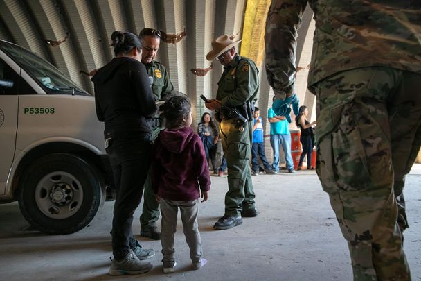 Immigration patrols at the Texas border: Kevin Kerr and Brianna Branch have been sentenced to jail time after being found guilty of smuggling migrants across the US border.