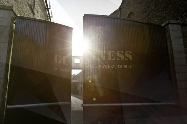 See behind the iconic gates on the new Guinness Brewery Tour.