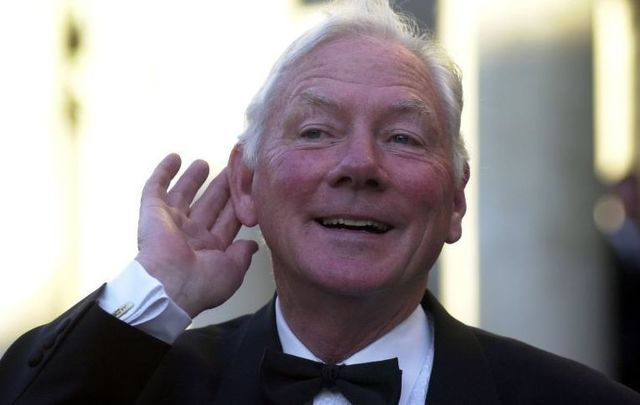Gay Byrne during the Late Late 50th anniversary show. \n\n