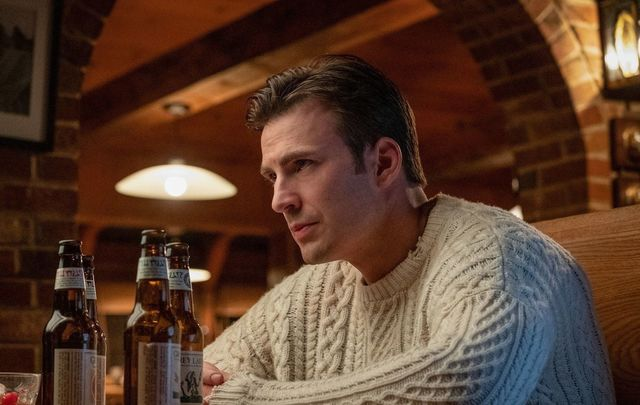 Chris Evans in Knives Out is WEARING that Irish Aran sweater!