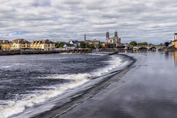The River Shannon, at Athlone, in Westmeath.