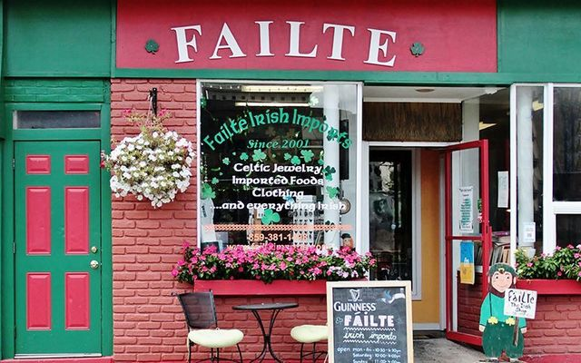Failte Irish imports in Lexington, Kentucky