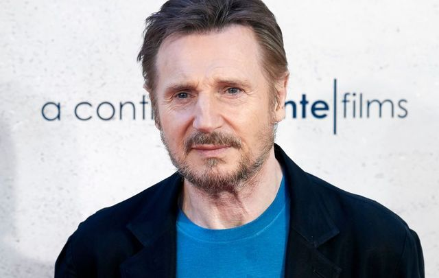 Actor Liam Neeson attends \'Venganza Bajo Cero\' photocall at the Villamagna Hotel on July 16, 2019, in Madrid, Spain.