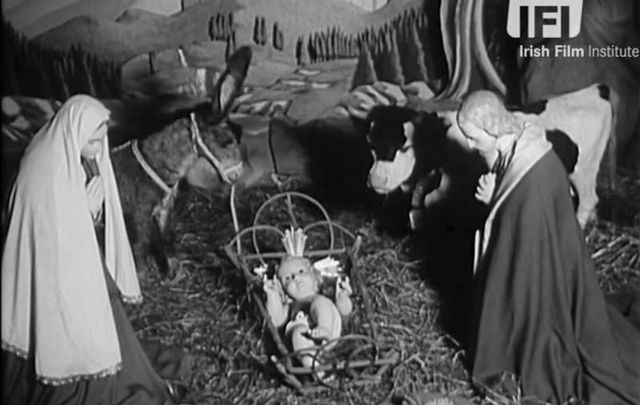 Have a look at Dublin\'s famous \'Moving Crib\' Christmas display from 1963, courtesy of The Irish Film Institute.