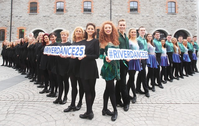 Riverdance 25th Anniversary Show at the 3Arena, in Dublin.