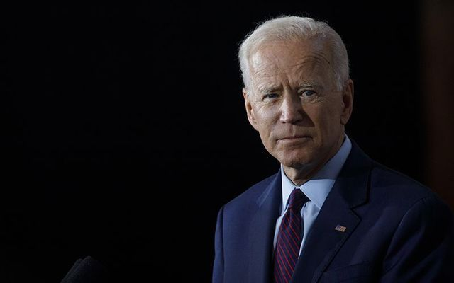 Former vice president and current Democratic presidential candidate Joe Biden.