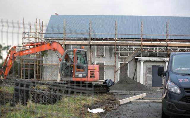 Construction work has begun on Glenwood House in Lucan where Ana Kriegel was murdered.